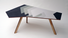 Kidney Table Grey Shadowed | Neunoy - We Are Makers