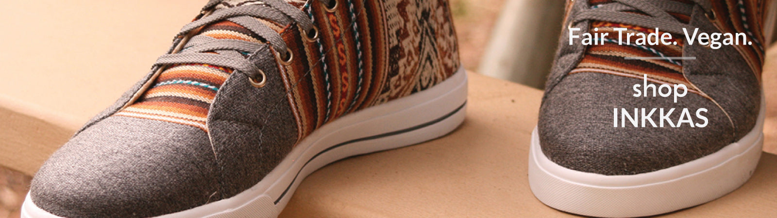 Shop Inkkas fair trade sneakers and shoes.