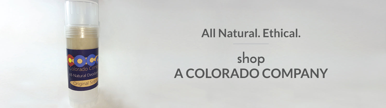 Shop all natural deodorant made in the USA. It really works!