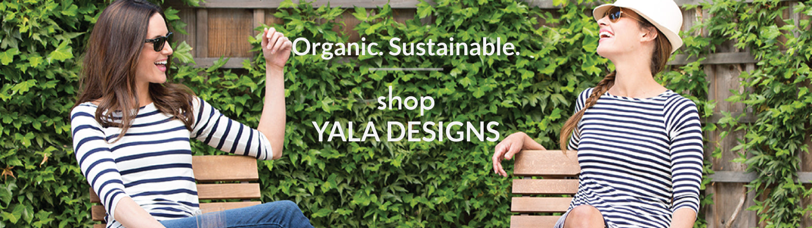 Shop women's sustainable bamboo and cotton clothes from Yala Designs.
