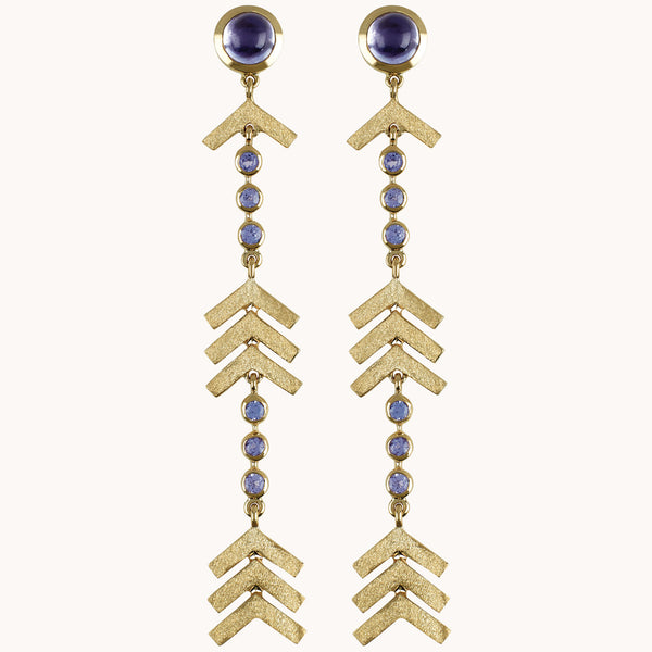 Long Arrow Earrings, Earrings - Marlo Laz