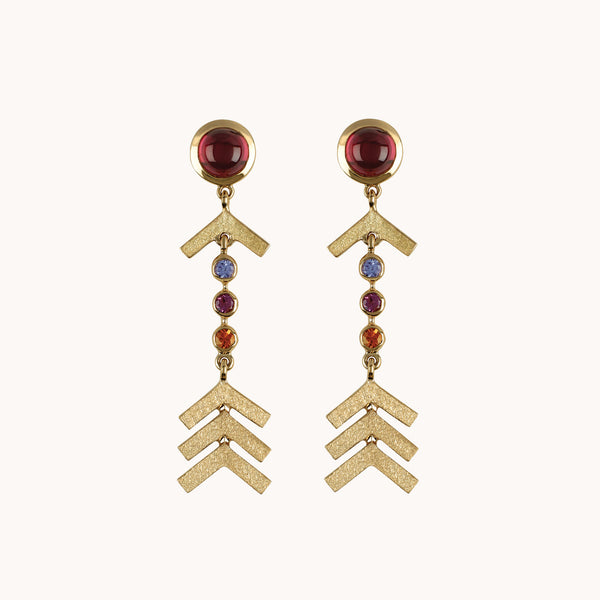 Short Arrow Earrings, Earrings - Marlo Laz