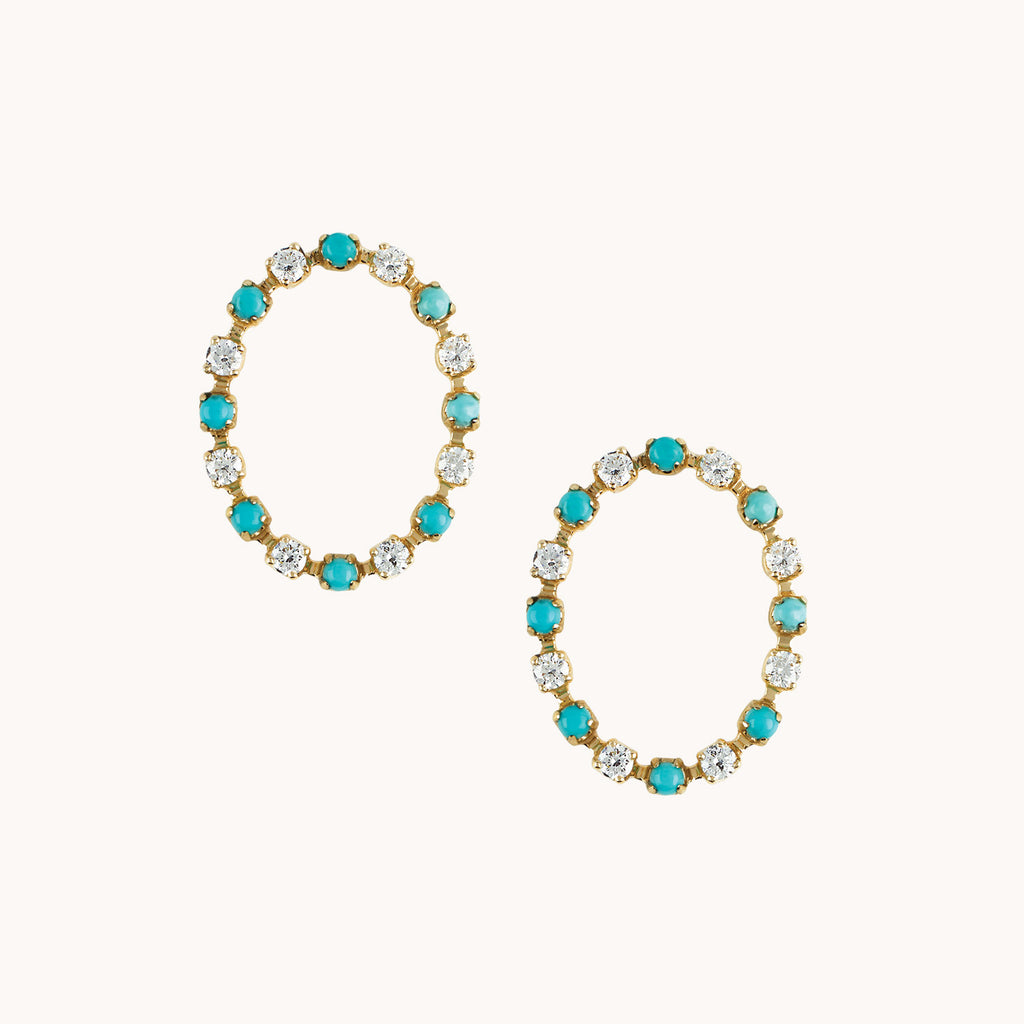 Full Circle Earrings, Earrings - Marlo Laz