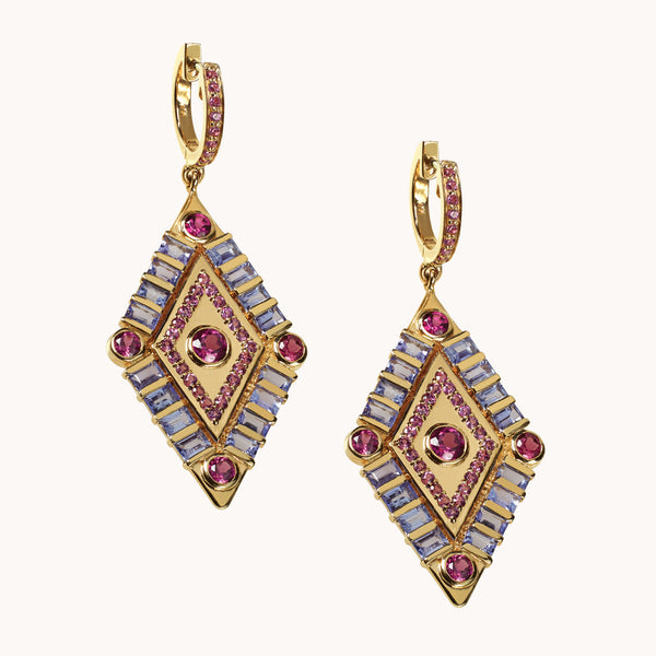 Shaman's Eye Earrings, Earrings - Marlo Laz