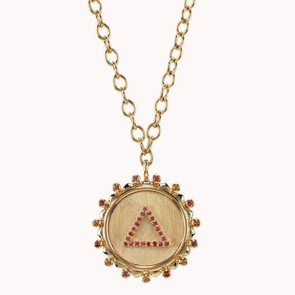 On Fire Element Necklace, Necklaces - Marlo Laz