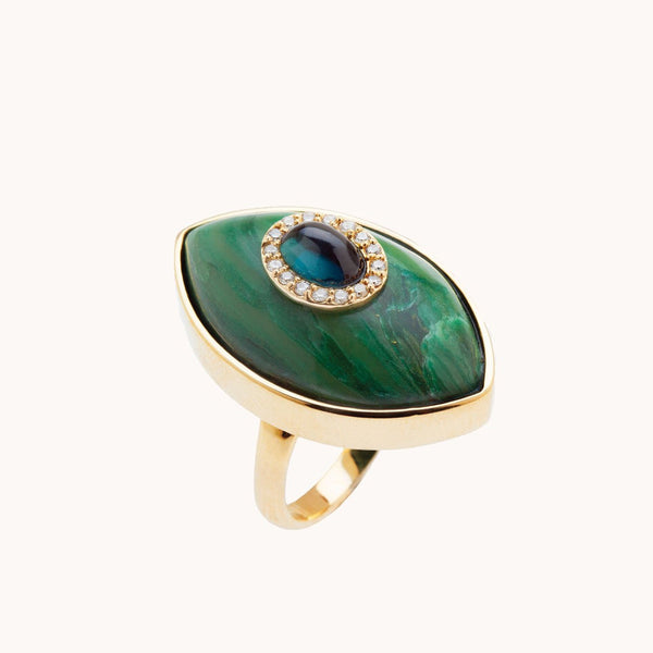Vertical Iris Ring, Rings - Marlo Laz