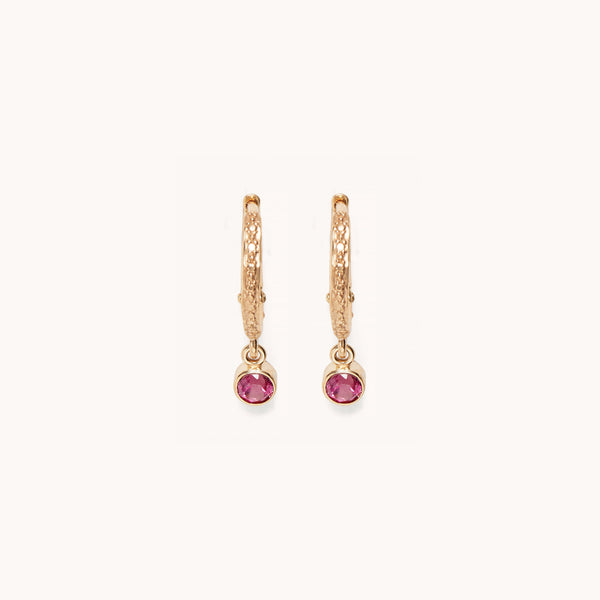 Micro Hoop Earrings, Earrings - Marlo Laz