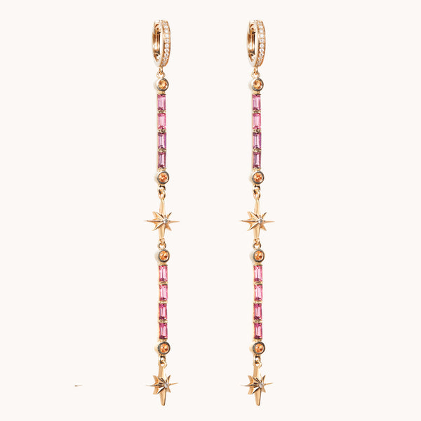 Double Wand Earrings