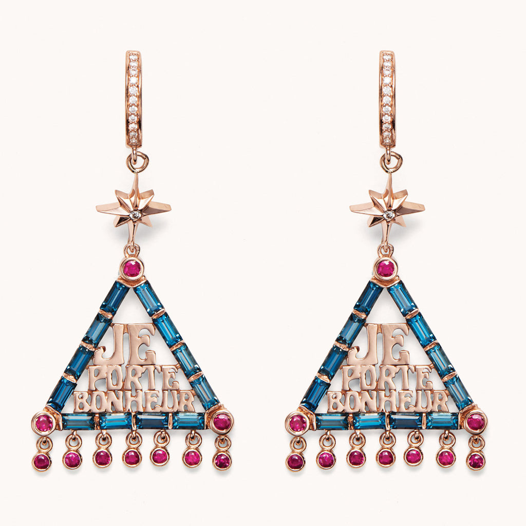 JPB Lucky Charm Earrings, Earrings - Marlo Laz