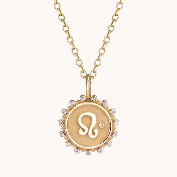 Leo Pendant Necklace, Necklaces - Marlo Laz