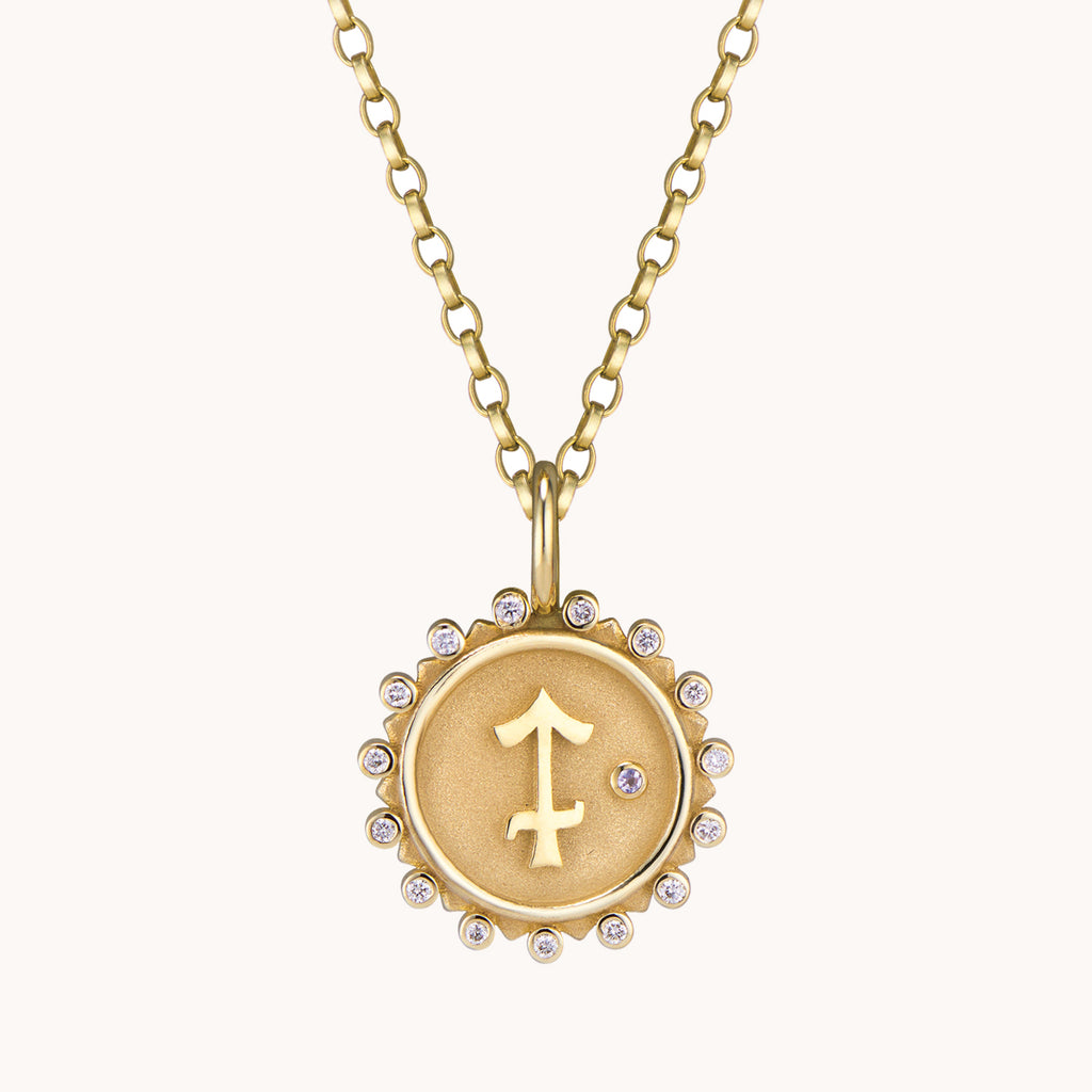 Sagittarius Pendant Necklace, Necklaces - Marlo Laz