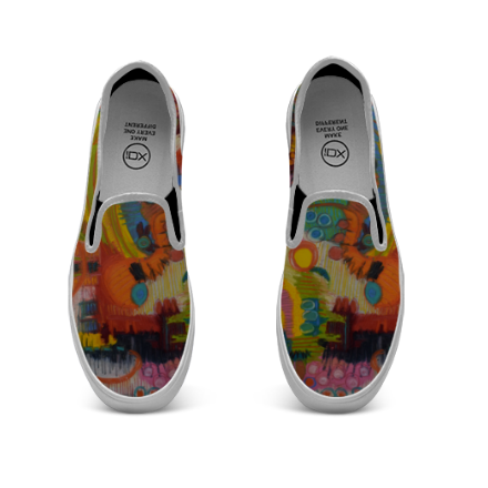 Botanica Slip On Canvas Shoes
