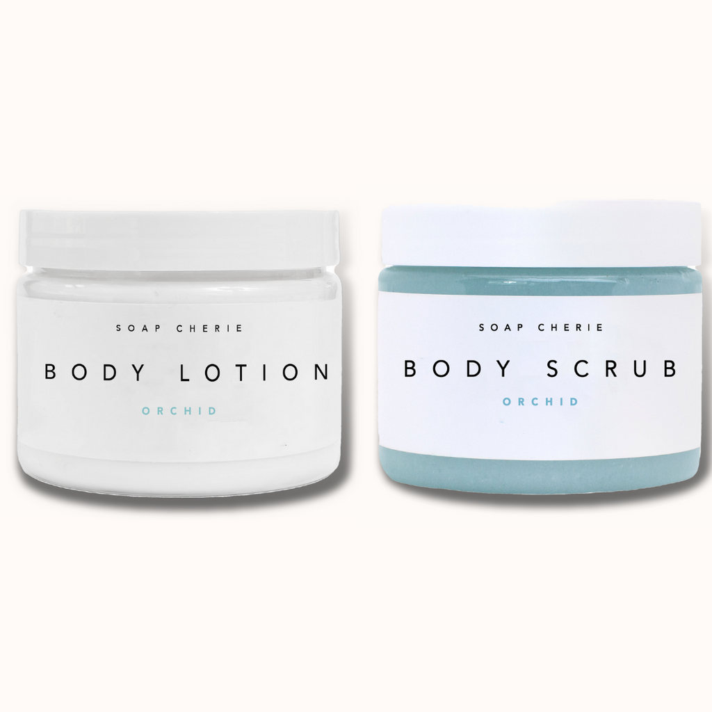 BODY SCRUB & BODY LOTION ORCHID