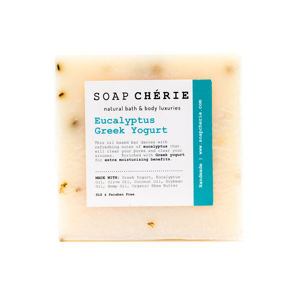 Eucalyptus Greek Yogurt Soap