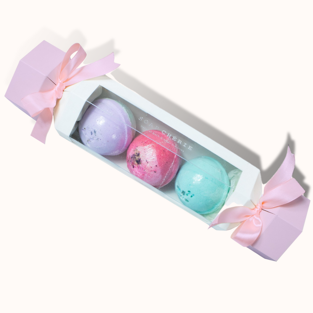 Bath Fizz Bomb Trio Set