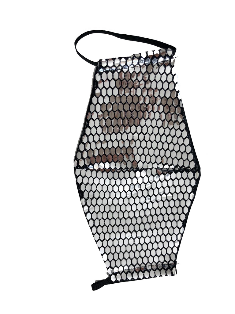 CAT Sequined Mesh