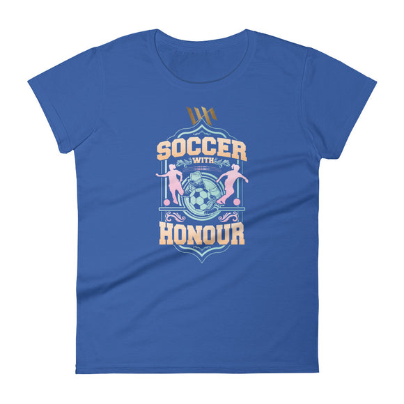 Women's Soccer Short Sleeve Tee