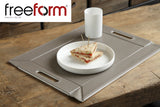 Freeform Tray, Grey/Black, Medium