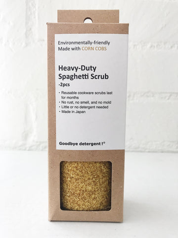 NEW Heavy-Duty Spaghetti Scrub, 2pc