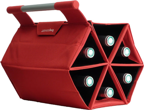 Ultimate Bottle Carrying Case, Red
