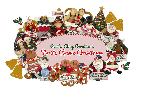 Bert S Classic Christmas Bert S Clay Creations