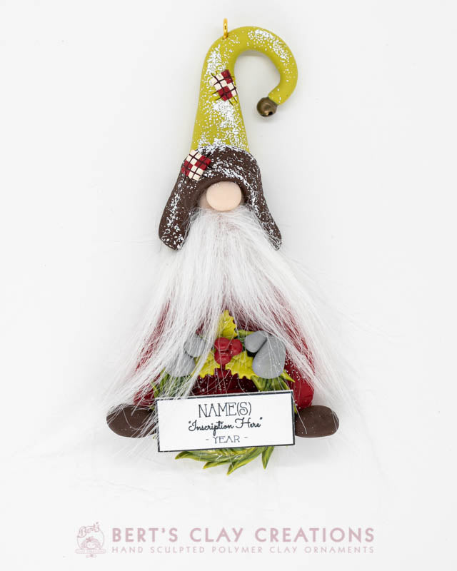 Whimsey Christmas - Gnome Ornament