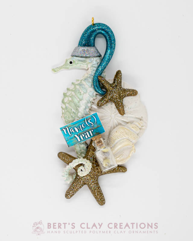 Beachy Collection - Seahorse