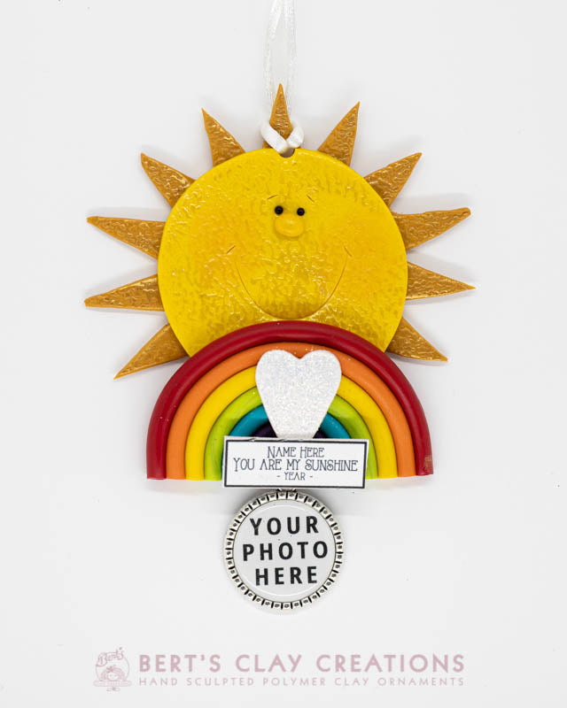 You Are My Sunshine Photo Ornament