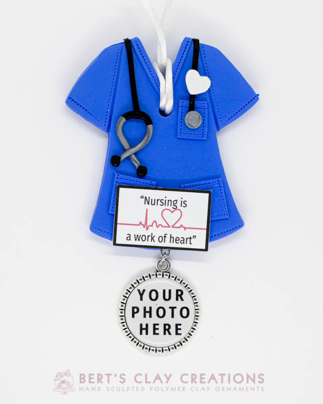 Nurse Photo Ornament