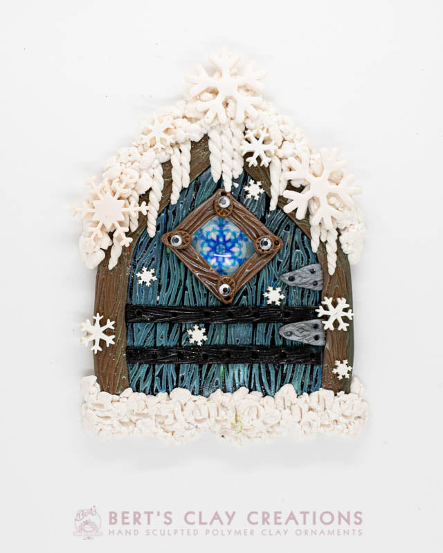 Enchanted Wonderland - Snowflake Fairy Door