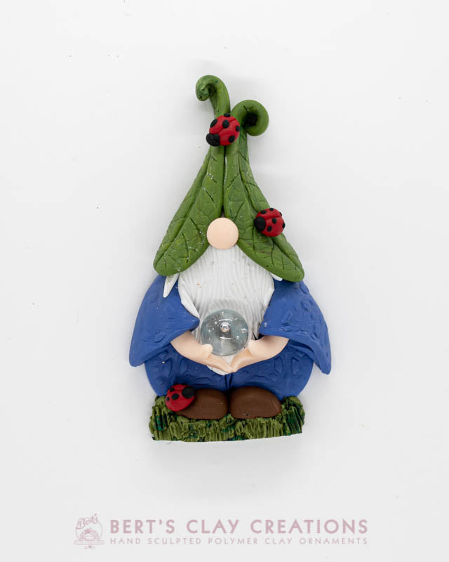 Enchanted Wonderland - Ladybug Gnome Ornament