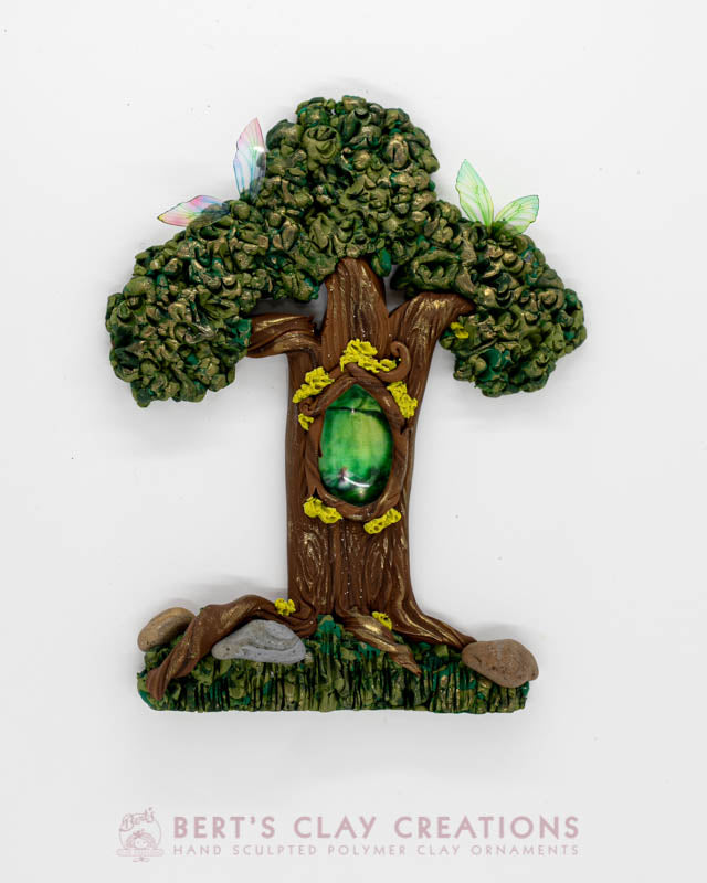 Enchanted Wonderland - Fairy Tree Ornament