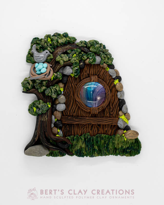 Enchanted Wonderland - Bird Fairy Door Ornament