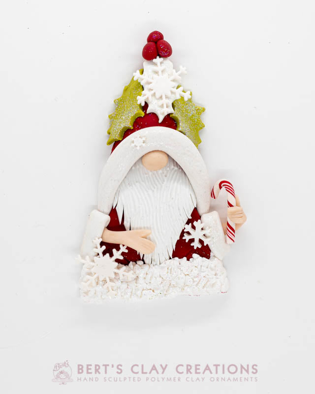Enchanted Wonderland - Christmas Gnome Ornament