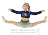 CUSTOM Cheerleader Ornament Submission Quote
