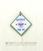 BSA Scout Me In Boy Scout Charm
