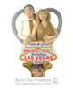 CUSTOM Vegas Wedding Heart Bust Ornament Submission Quote - Bert's Clay Creations
