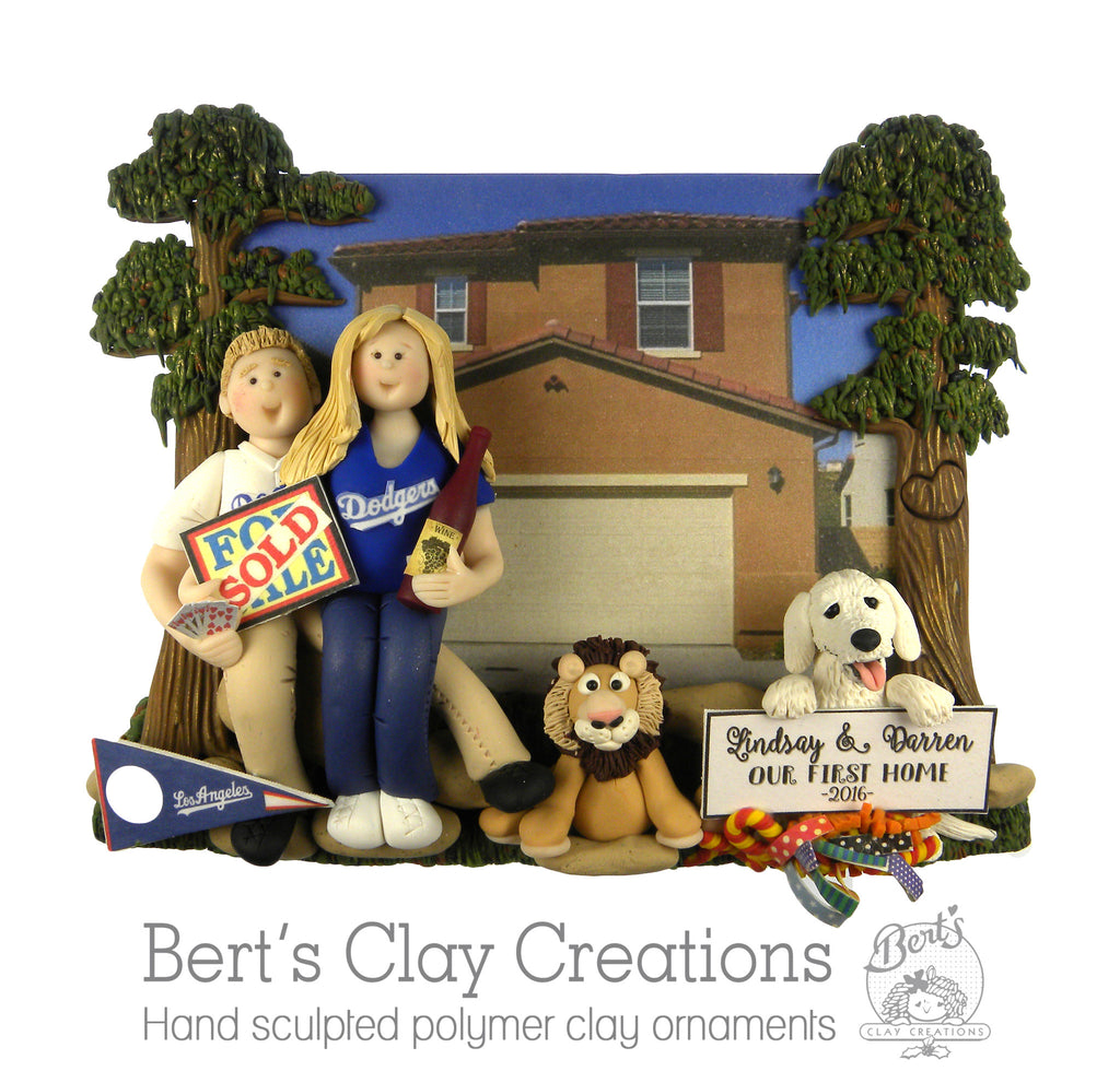 CUSTOM New Home Ornament Submission Quote - Bert's Clay Creations