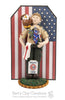 BSA - Eagle Scout Cake Topper AND Ornament Hybrid CUSTOM - Bert's Clay Creations