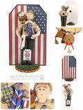 BASIC Eagle Scout Cake Topper AND Ornament Hybrid