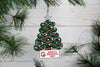 OSU Buckeye Christmas Ornament - OHIO! - Bert's Clay Creations