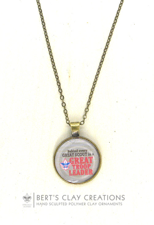 BSA Personalized Basic Pendant