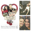 CUSTOM Family Heart Ornament Submission Quote - Bert's Clay Creations