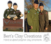 CUSTOM Portraits in Clay Submission - Bert's Clay Creations