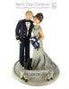 CUSTOM Bride & Groom Cake Topper Submission Quote - Bert's Clay Creations