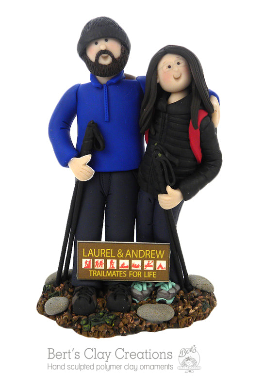 CUSTOM Couple Ornament Submission Quote - Bert's Clay Creations