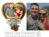 CUSTOM Engagement Bust Ornament Submission Quote - Bert's Clay Creations