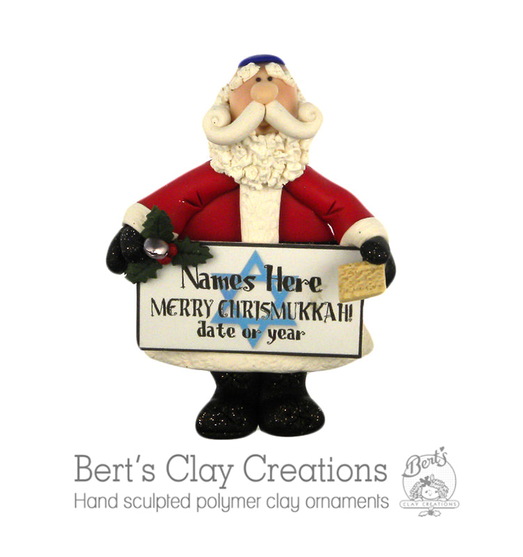 Merry Chrismukkah - Bert's Clay Creations