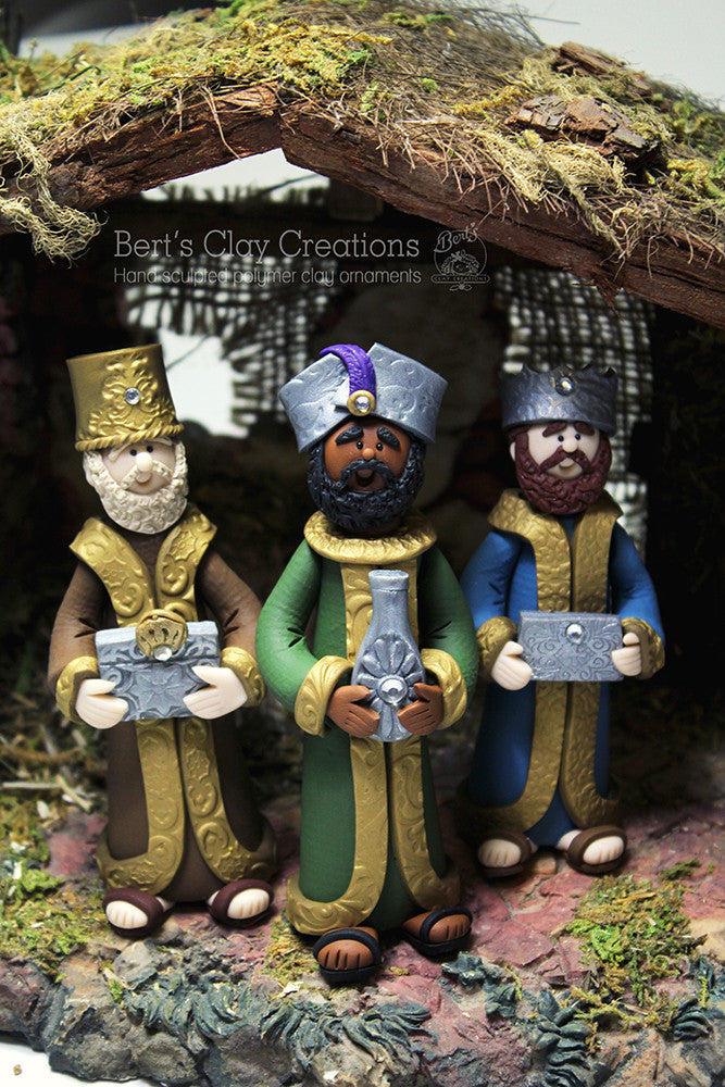 Nativity - Set of 3 Wise Men