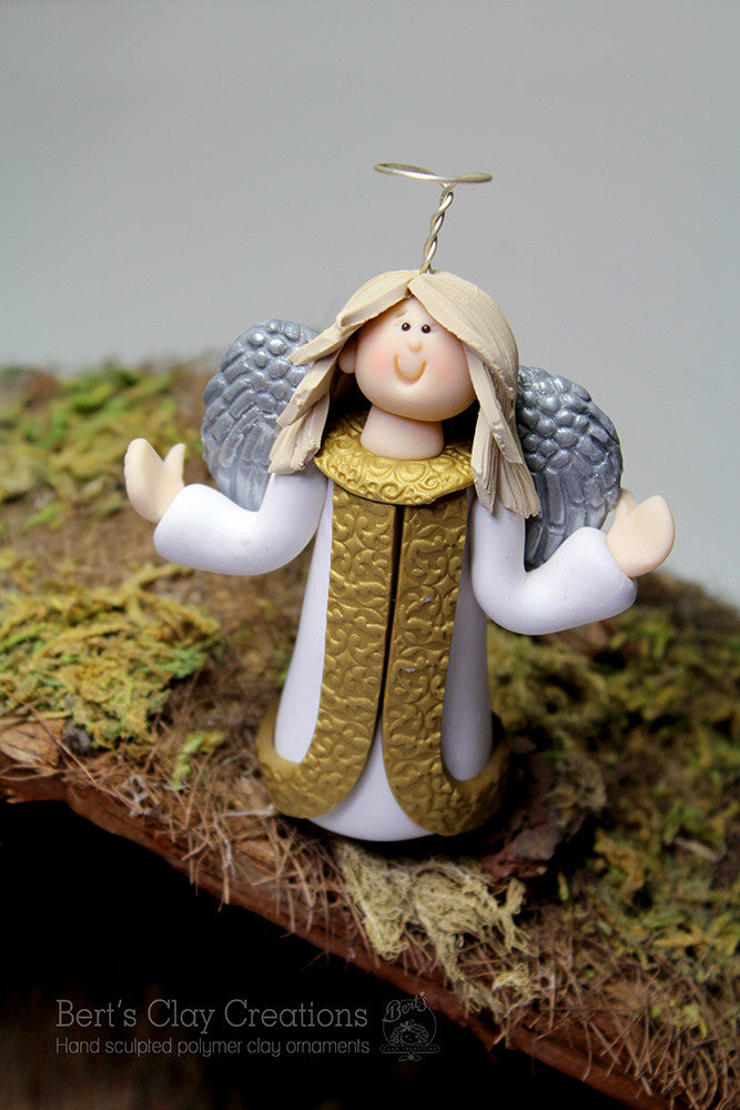 Nativity - Angel - Bert's Clay Creations
